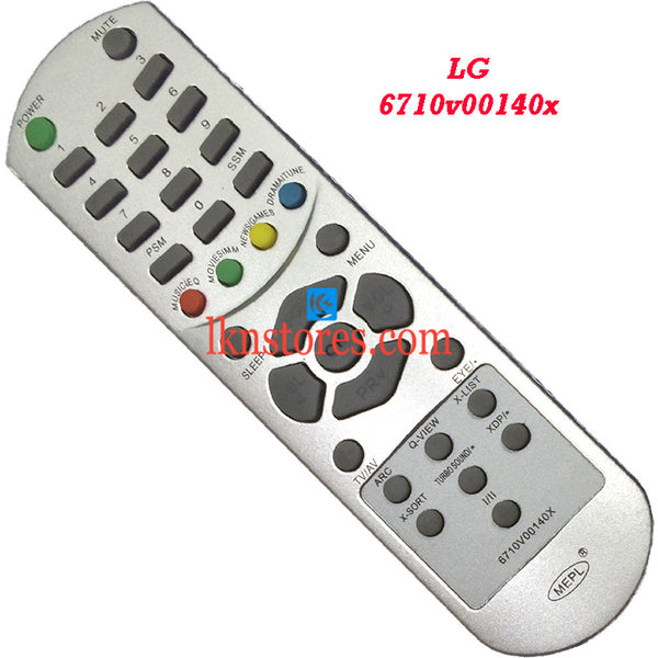 LG 6710V00140X replacement remote control - LKNSTORES