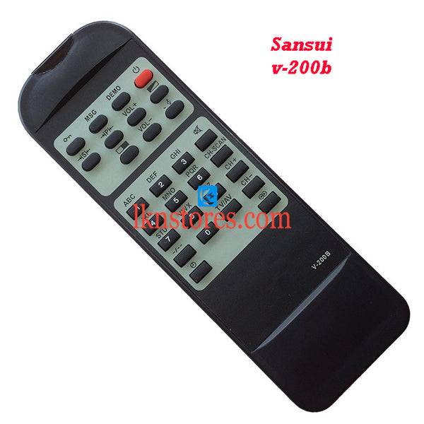 Sansui V 200B replacement remote control - LKNSTORES
