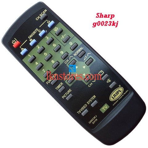 Sharp G0023KJ replacement remote control