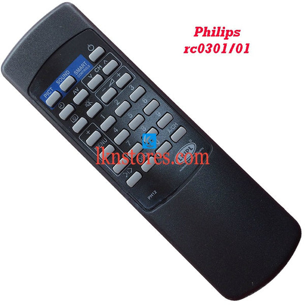 Philips RC 0301 replacement remote control - LKNSTORES
