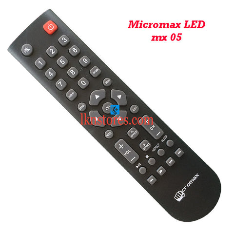 Micromax LCD LED Remote Control