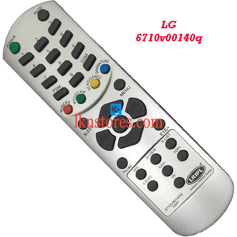 LG 6710V00140Q replacement remote control