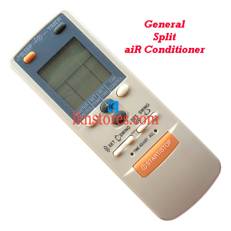 General Split Air Conditioner II replacement remote control