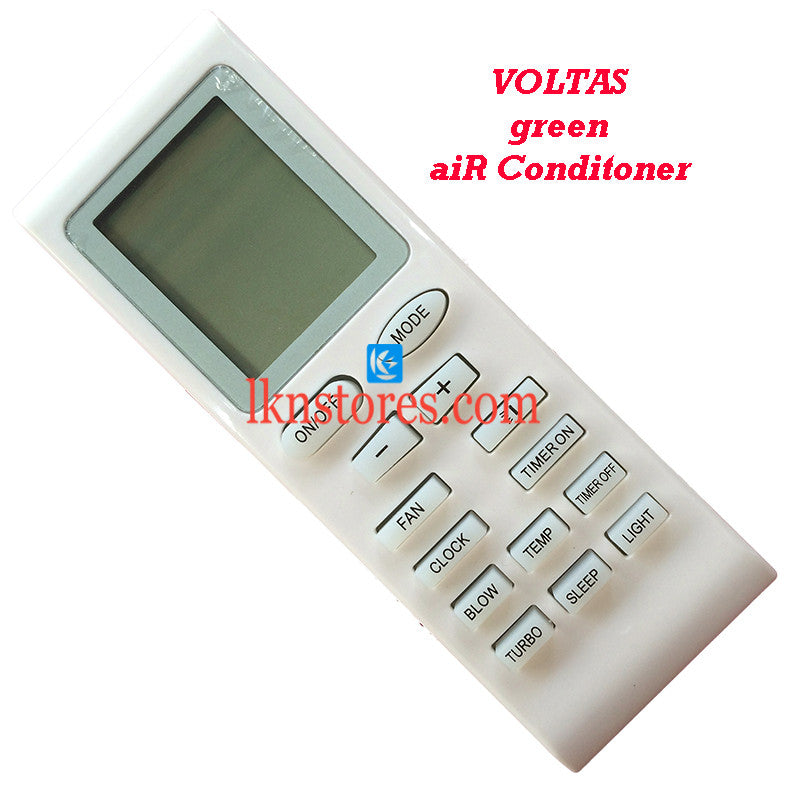 Voltas Air Conditioner I replacement remote control
