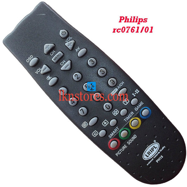 Philips RC0761 01 Fish replacement remote control