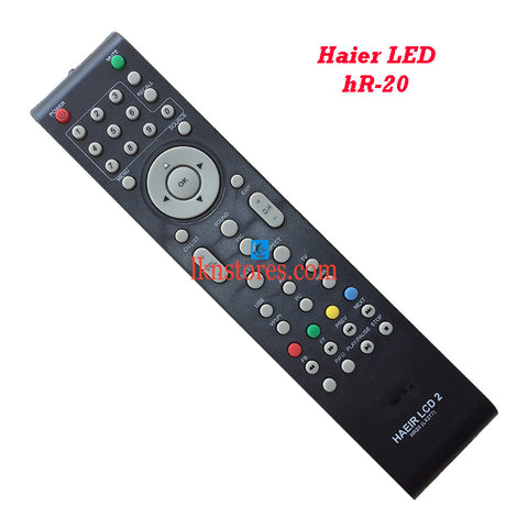 Haier LCD LED Remote Control