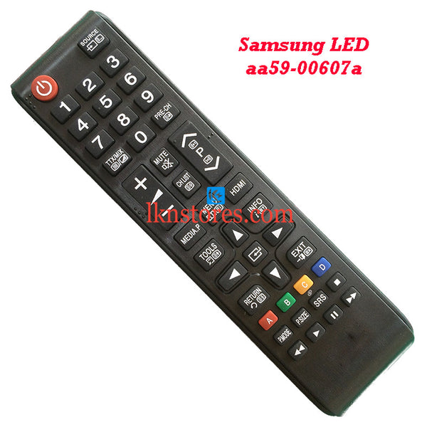 Samsung AA59 00607A LED replacement remote control