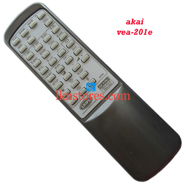 Akai VEA 201E replacement remote control - LKNSTORES