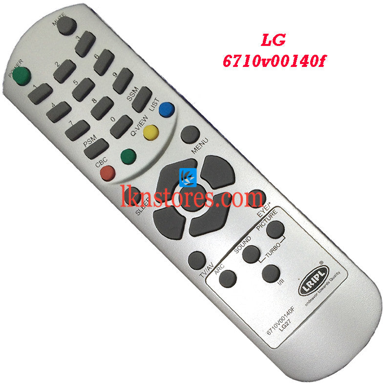 LG 6710V00140F replacement remote control