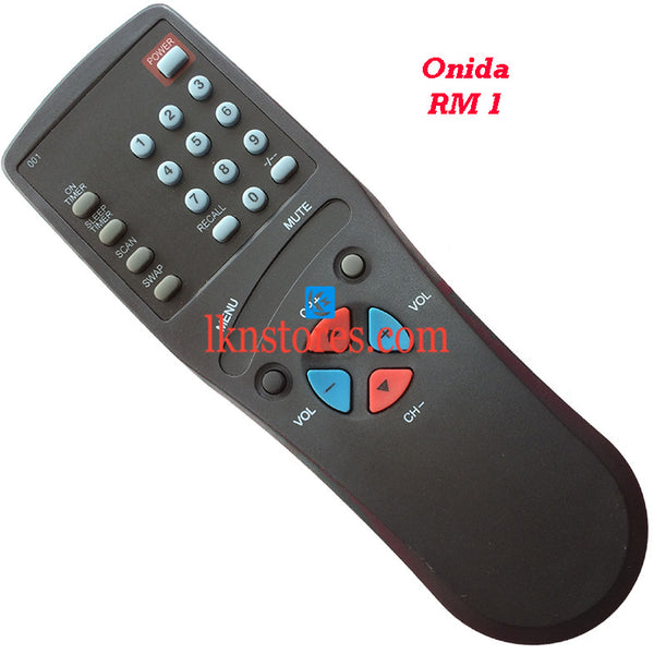 Onida RM 1 replacement remote control - LKNSTORES