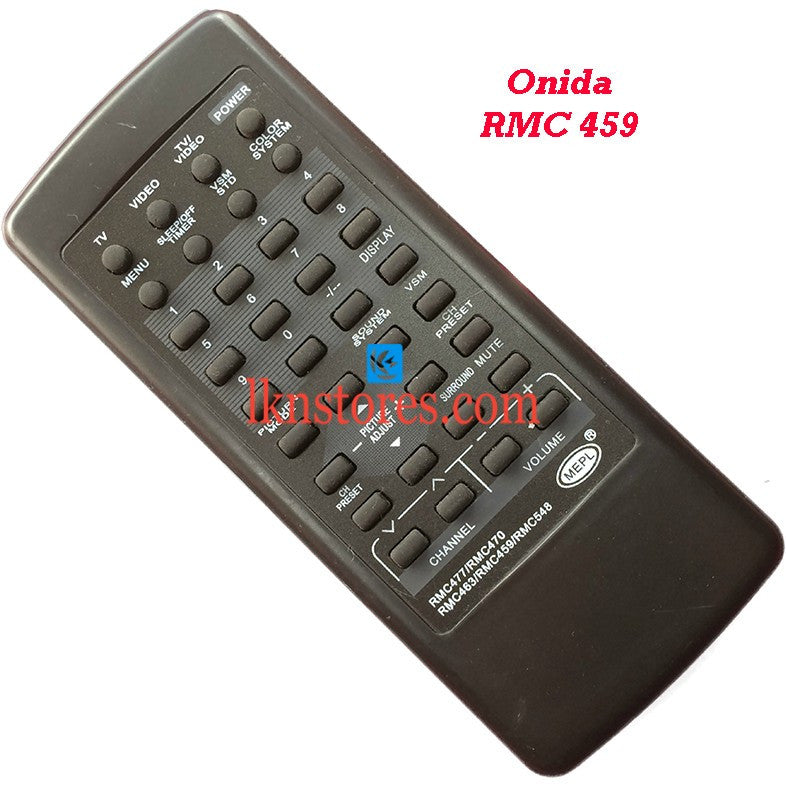 Onida RMC 459 replacement remote control