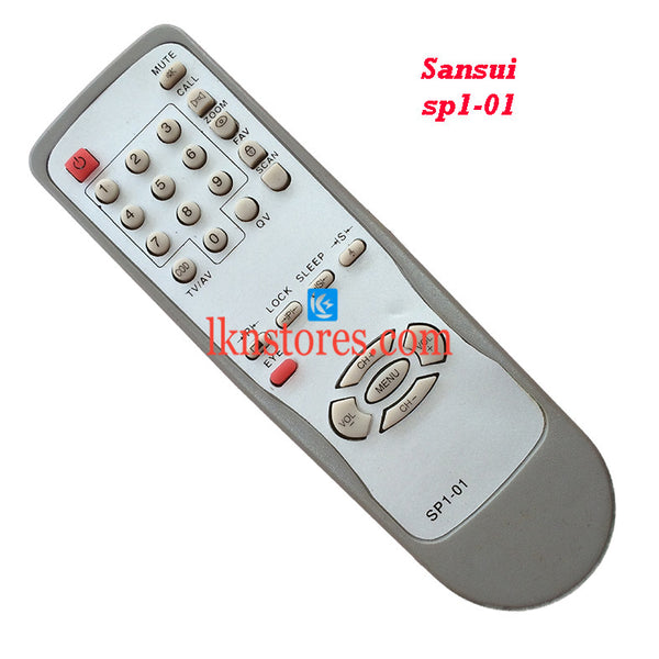 Sansui SP1 01 replacement remote control