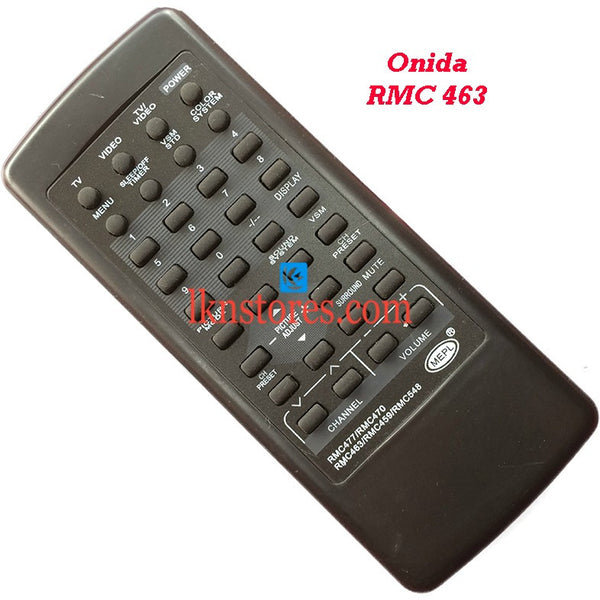 Onida RMC 463 replacement remote control - LKNSTORES