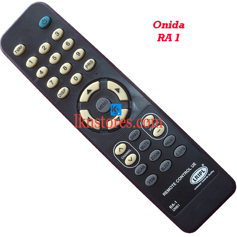 Onida RA 1 replacement remote control