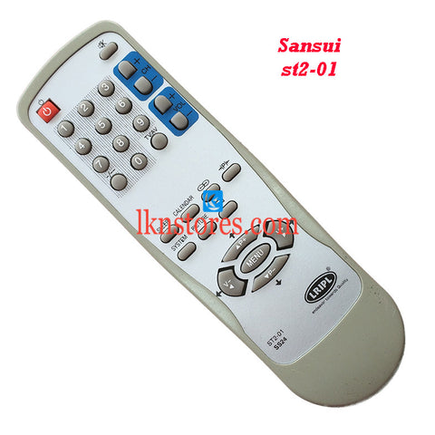 Sansui ST2 01 replacement remote control