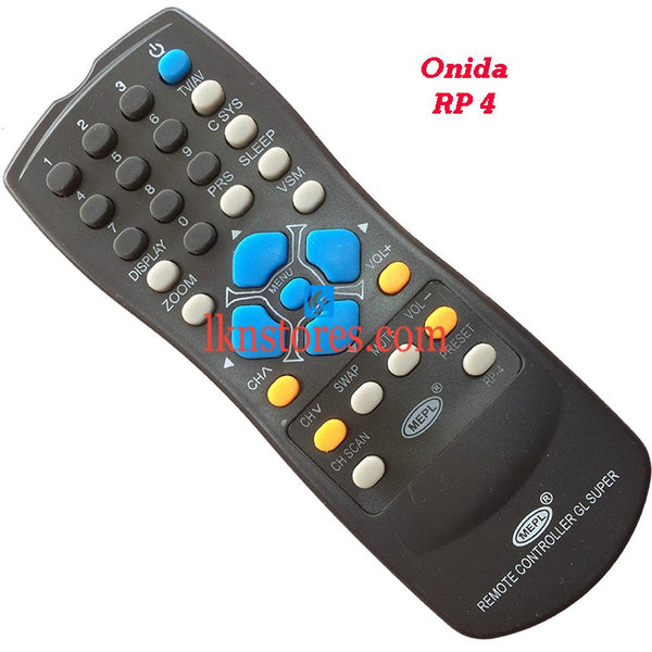 Onida RP 4 replacement remote control - LKNSTORES