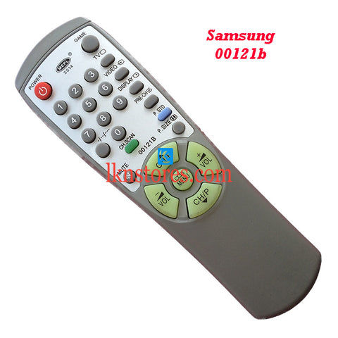 Samsung 00121B replacement remote control
