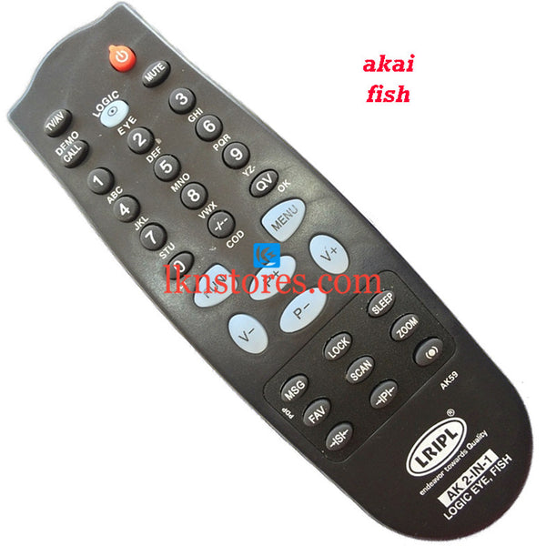 Akai FISH replacement remote control