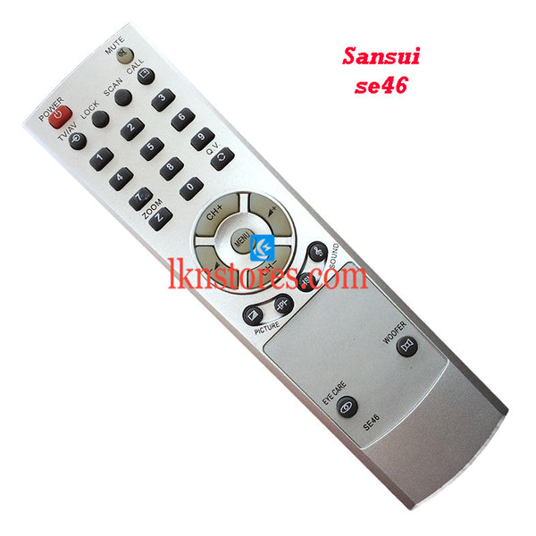Sansui SE46 replacement remote control