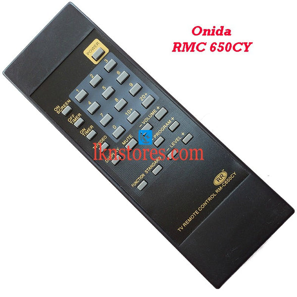 Onida RMC 650CY replacement remote control - LKNSTORES