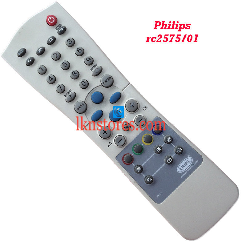 Philips RC2575 01 replacement remote control