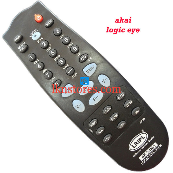 Akai LOGIC EYE replacement remote control