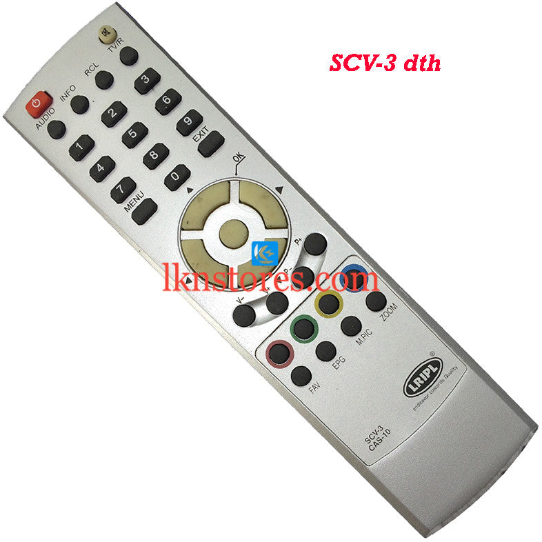 SCV DTH 03 replacement remote control