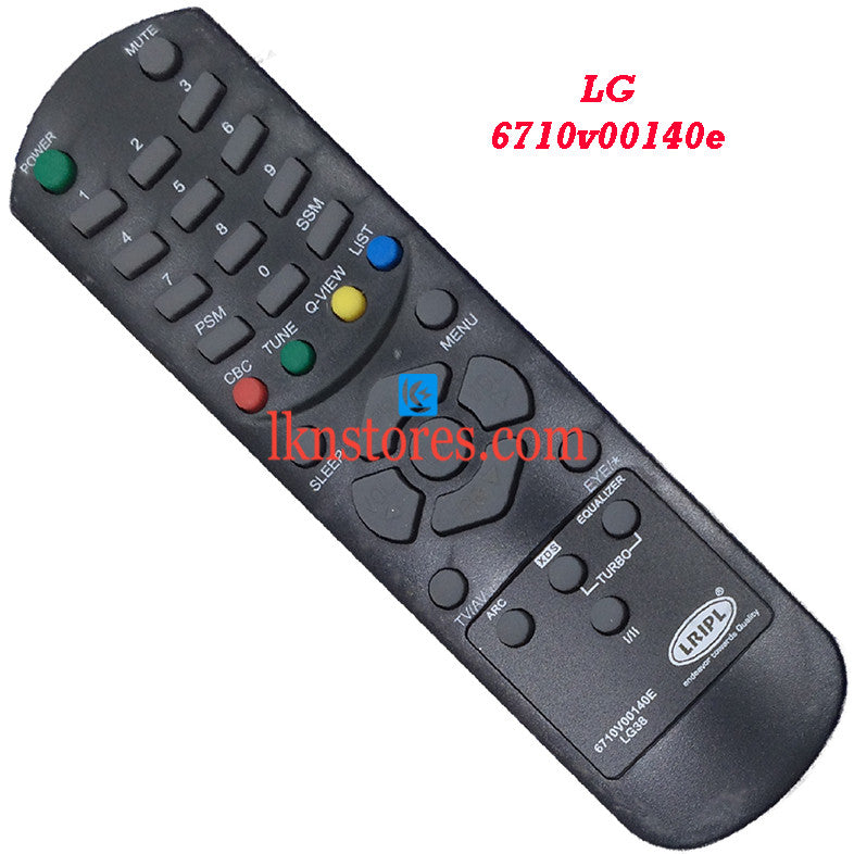 LG 6710V00140E replacement remote control