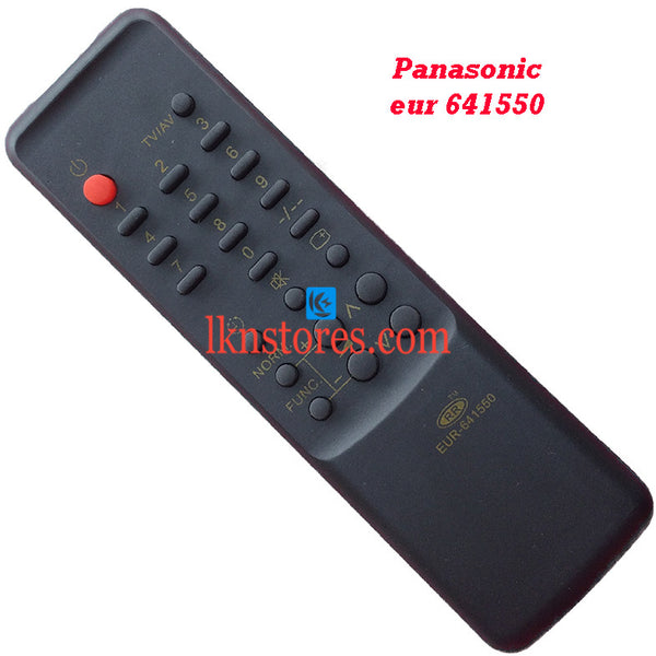 Panasonic 641550 replacement remote control