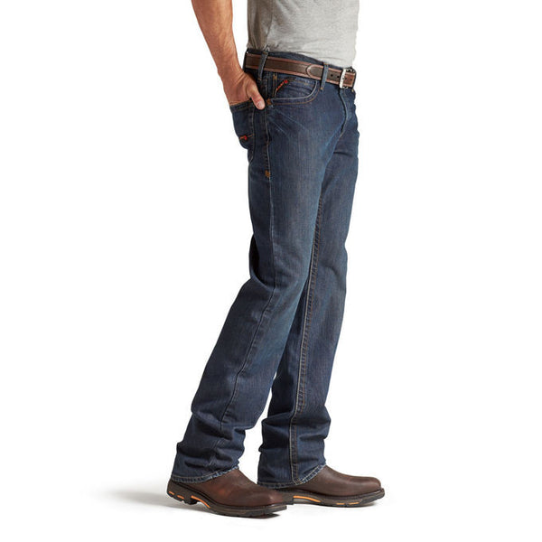 Ariat® Fr M4 Low Rise Shale Boot-Cut Denim Jeans