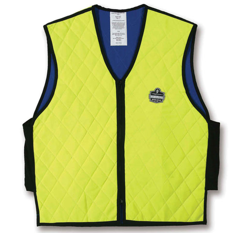 Ergodyne Lime Chill-Its™ 6665 Cooling Vest