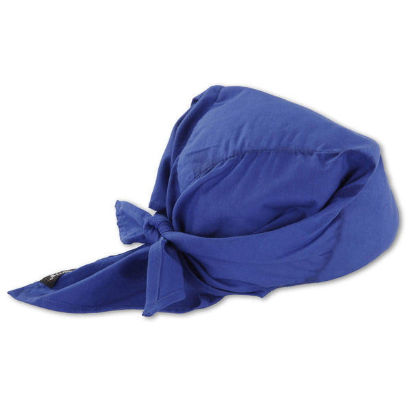 Ergodyne Chill-Its™ 6710CT Advanced PVA Evaporative Cooling Triangle Hat With Tie Closure And Towel