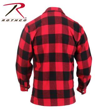 Rothco Concealed Carry Plaid Flannel Shirt