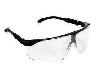 3M Maxim Safety Glasses With Black Nylon Frame And Clear Polycarbonate Anti-Scratch Lens