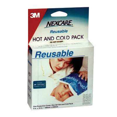 "3M 4 3/4"" X 10 1/2"" Blue Nexcare Reusable Cover For Nexcare 1570 Cold or Hot Pack (100 Per Box)"