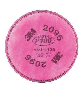 3M 2096 P100 Filter For 5000, 6000, 6500, 7000 And FF-400 Series Respirators