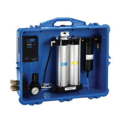 3M 50 CFM Blue Portable Air Purification Panel With Carbon Monoxide Filtration, Monitor And 4-Outlets (For Use With Compressed Air Filter And Regulator)