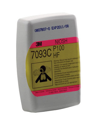 3M Nuisance Level Hydrogen Fluoride/Organic Vapors P100 APR Cartridge For 6000, 7500 And 7800 Series Respirators