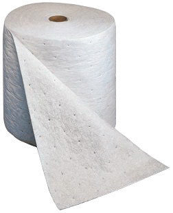 "3M 15"" X 150' Light Gray Polypropylene And Polyester High Capacity Maintenance Sorbent Roll (1 Per Case)"