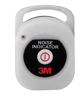 "3M 2"" X 1.4"" X .52"" Rechargeable Noise Indicator"