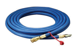 "3M 3/8"" X 25' Rubber High Pressure Blue Industrial Interchange Straight Supplied Air Hose"