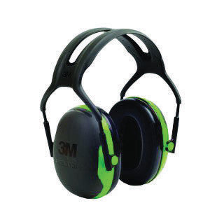 3M Peltor Black And Green Model X1A/37270(AAD) Over-The-Head Hearing Conservation Earmuffs