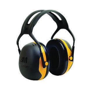 3M Peltor Black And Yellow Model X2A/37271(AAD) Over-The-Head Hearing Conservation Earmuffs