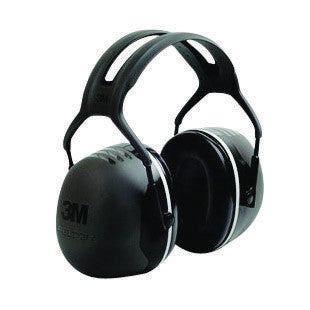 3M Peltor Black Model X5A/37274(AAD) Over-The-Head Hearing Conservation Earmuffs