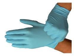 Hercules Powder Free Disposable Nitrile Gloves