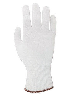 Ansell Size 6 White SafeKnit™ Ultra Light Duty Spectra™ And Fiber Ambidextrous Cut Resistant Gloves With Knit Wrist And Kevlar™ Lined