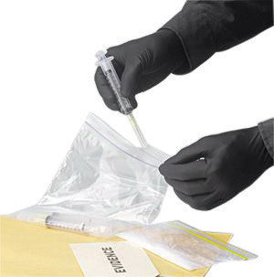 "SHOWA Best™ Glove Medium Black 9 1/2"" N-DEX™ NightHawk™ 4 mil Nitrile Ambidextrous Powder-Free Disposable Gloves With Rough Finish And Rolled Cuff (50 Each Per Box)"