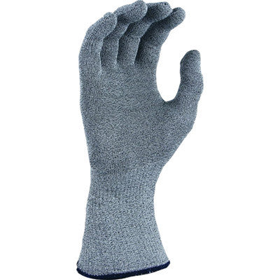 SHOWA Best™ Glove Size 7 Light Gray T-FLEX™ UnDotted Style 15 gauge Light Weight Dyneema™ Yarn Ambidextrous Wirefree Cut Resistant Gloves With Seamless Knit Wrist