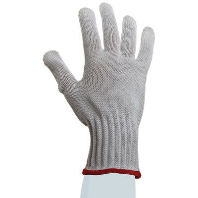 SHOWA Best™ Glove Size 8 White D-FLEX™ PLUS Dotted Style 7 gauge Medium Weight HPPE Yarn Left Hand Cut Resistant Gloves With Seamless Knit Wrist And PVC Dots Coating