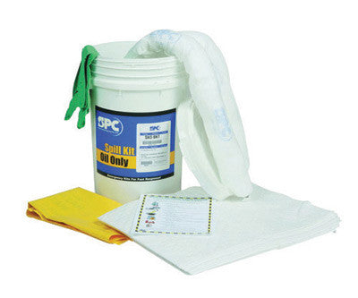 Brady™ 6.5 Gallon Bucket Spill Kit